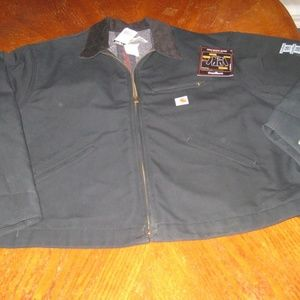 NEW Carhartt Jacket Duck Detroit Blanket Lined 58